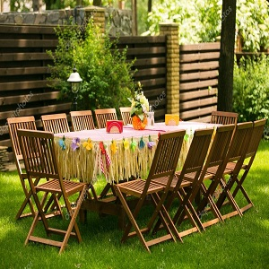 What items are counted as garden furniture